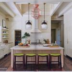 kitchen-cabinets-in-stockbridge-ga-cream-kitchen-blush-island-lime-seat cushions